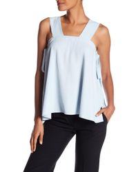 Helmut Lang - Side Tie Square Top - Lyst