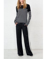 La Ligne Boudoir Pants - Black