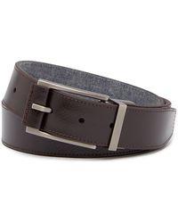 Boconi | Reversible Leather Belt | Lyst