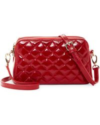 Zenith - Quilted Leather Chain Strap Shoulder Bag - Lyst