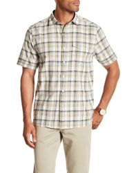 Tommy Bahama - Ocean Cay Plaid Shirt - Lyst
