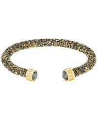 Swarovski - Crystal Dust Crystal Cuff Bracelet - Lyst