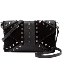 Sorial | Levi Leather & Suede Studded Crossbody Bag | Lyst
