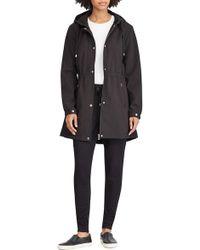 Lauren by Ralph Lauren - Soft Shell Hooded Jacket - Lyst