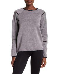 Bench Meshtape Crew Neck Sweater - Gray