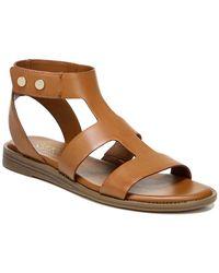 Franco Sarto Genevia T-strap Sandal - Brown
