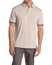 7 Diamonds - Foster Tipped Polo - Lyst