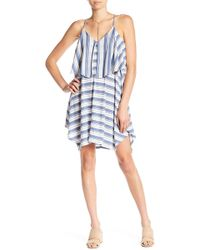 William Rast - Elizabeth Stripe Popover Dress - Lyst