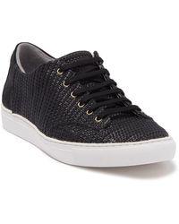 T C G Creuzot Woven Sneaker - Black