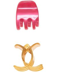 France Luxe Sadie Claw Hair Clip - Pink
