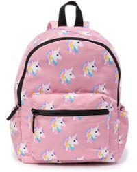 T-Shirt & Jeans - Unicorn Backpack - Lyst