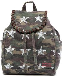 Peace Love World - Drawstring Backpack - Lyst