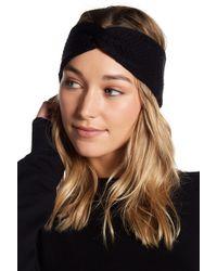 BCBGMAXAZRIA Everyday Solid Twist Headwrap - Black