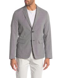 Theory - Clinton Houndstooth Two Button Notch Lapel Suit Separates Jacket - Lyst
