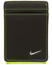 Nike - Leather Block Front Pocket Wallet - Lyst