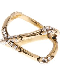 House of Harlow 1960 - Crystal Detail X Ring - Size 7 - Lyst