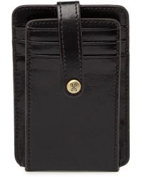 Hobo Access Leather Card Holder - Black