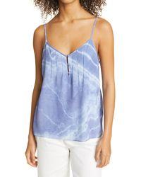 Nicole Miller Tie Dye Camisole - Blue