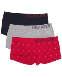 Tommy Hilfiger Seamless Boyshort - Pack Of 3 - Multicolor