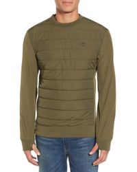 Timberland - Quilted Pullover - Lyst