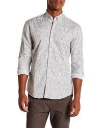 W.r.k. - Awaba Swirl Long Sleeve Shirt - Lyst