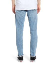 Rag & Bone Fit 1 Distressed Slim Jeans - Blue