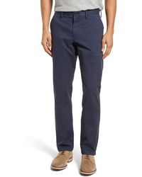 Nordstrom 1901 Ballard Slim Fit Stretch Chino Pants - Blue