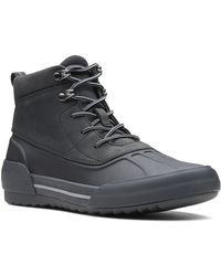 Clarks - Gilby Mckinley Waterproof Leather Boot - Lyst