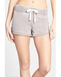 Honeydew Intimates - Burnout French Terry Short - Lyst