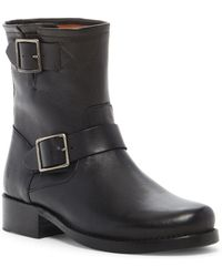 Frye - Vicky Engineer Leather Boot - Lyst