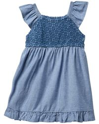 Levi's - Shift Denim Dress (baby Girls) - Lyst
