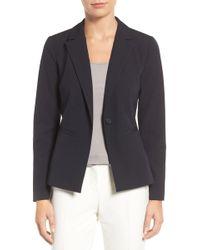 Halogen - Ela One-button Stretch Suit Jacket (petite) - Lyst