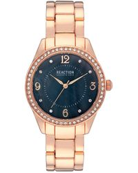 Kenneth Cole Reaction Women's Classic Crystal Bracelet Watch - Multicolor
