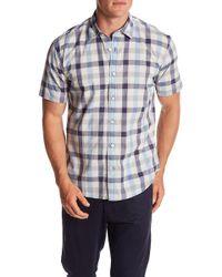 James Campbell - Lima Plaid Short Sleeve Shirt - Lyst