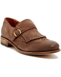 Blackstone - Fringe & Brogue Detail Loafer - Lyst