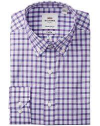 Ben Sherman - Stretch Multi Check Tailored Skinny Fit Dress Shirt - Lyst