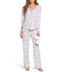 Make + Model - Knit Pyjamas & Eye Mask - Lyst