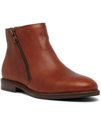 Kenneth Cole Reaction - Pebble Leather Boot - Lyst