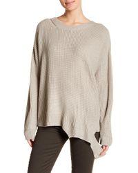Lush - Cutout Hem Sweater - Lyst