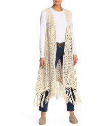 Free People Suncatcher Kimono - White
