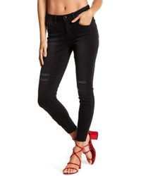 Seven7 - Distressed Raw Edge Jeans - Lyst