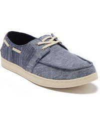 TOMS Culver Moc Toe Sneaker - Blue