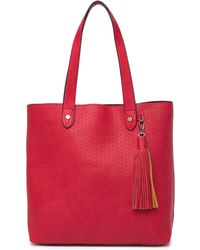 592f120e001a Steve Madden - Lou Perforated Tote Bag - Lyst