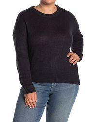 Vero Moda Lisa Long Sleeve Sweater - Blue