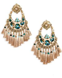 Gas Bijoux - Small Eventail Statement Earrings - Lyst