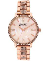 Nanette Nanette Lepore - Women's Rose-gold Metal Watch, 36mm - Lyst
