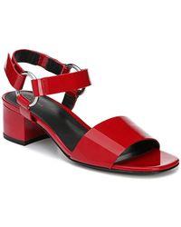 bc748b029ca7 Lyst - Miss Kg Freda Suedette Platform Sandals in Red