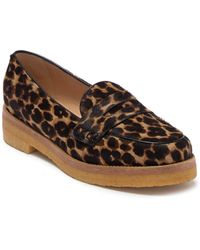 Longchamp Le Pliage Heritage Genuine Calf Hair Penny Loafer - Multicolor