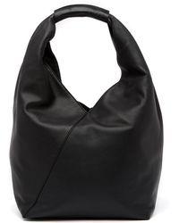 Anne Klein | Amorphous Leather Hobo Bag | Lyst
