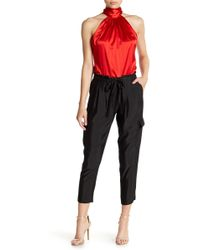 Ramy Brook - Allyn Tapered Satin Trousers - Lyst